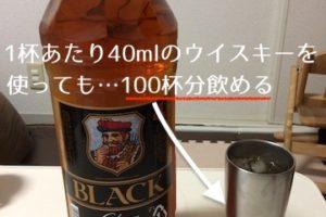 100杯飲めるペットボトルウイスキー