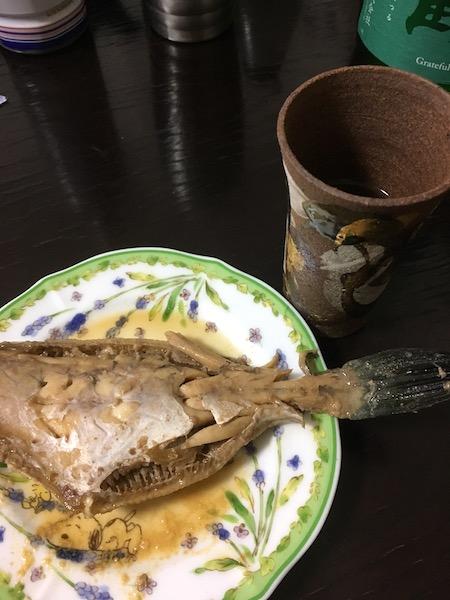 カワハギの煮付け