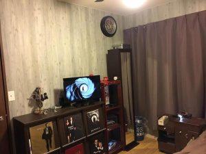 部屋の全景