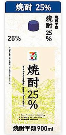 焼酎25%