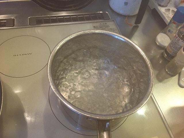 スナップえんどうの茹で方