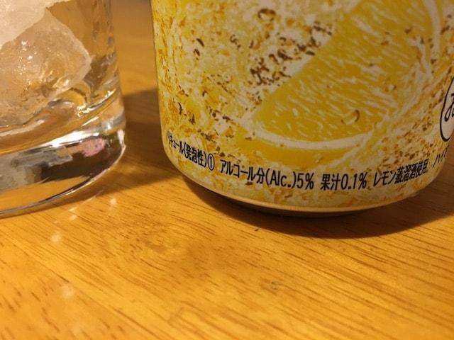 アルコール度数