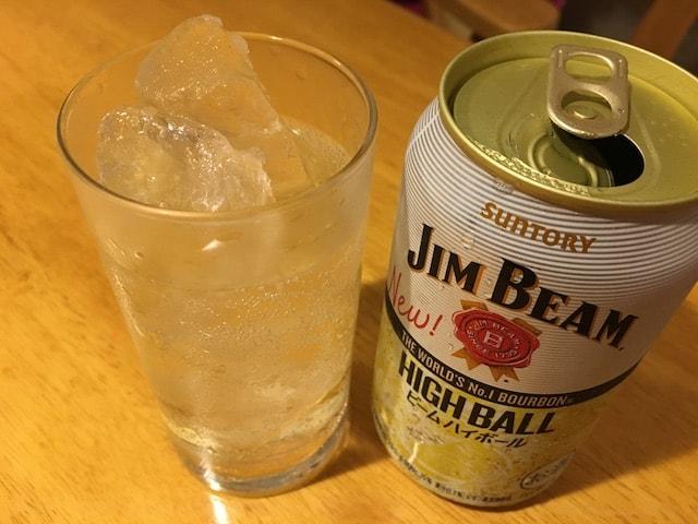 ジムビームのハイボール缶