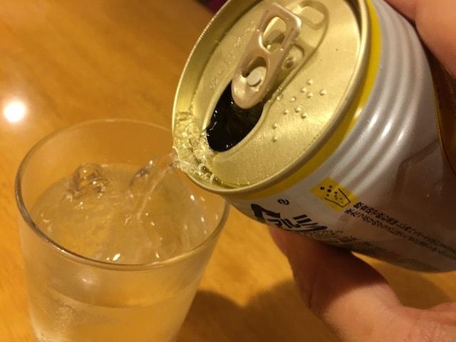 角ハイボール缶の味