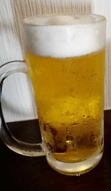 オリオンドラフトビール飲み方