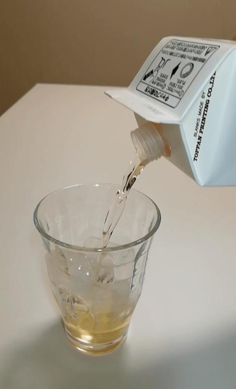 さらりとした梅酒