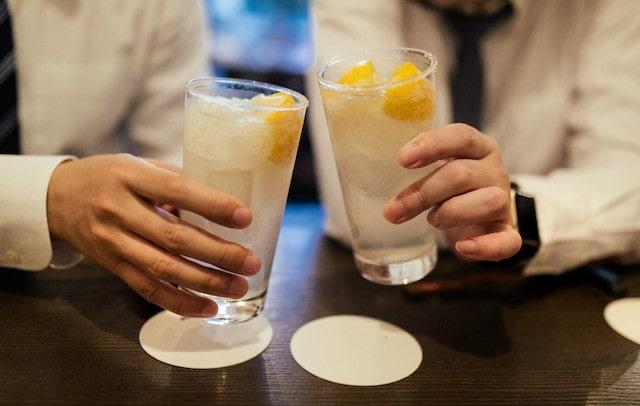 アルコール度の低い順(目安)