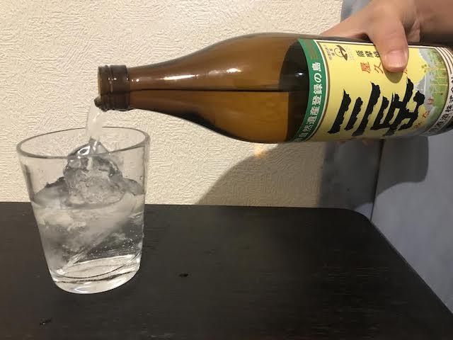 焼酎「三岳」