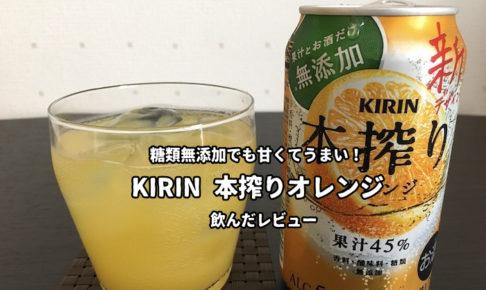 本搾りオレンジ