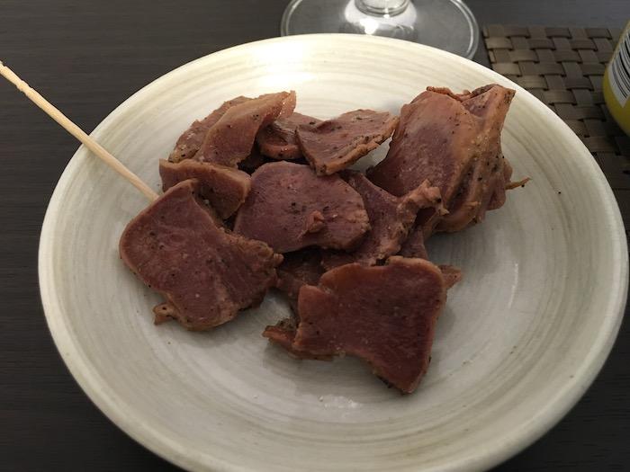 イベリコ豚タンのアップ画像