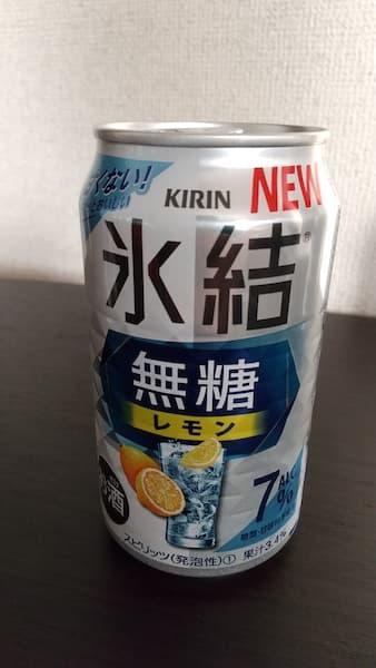 キリン氷結無糖レモン7%の缶
